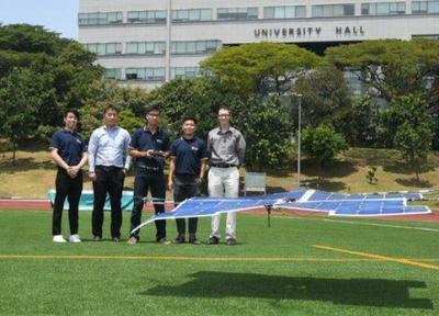 یک اتفاق نو در کوادکوپترهای خورشیدی +فیلم