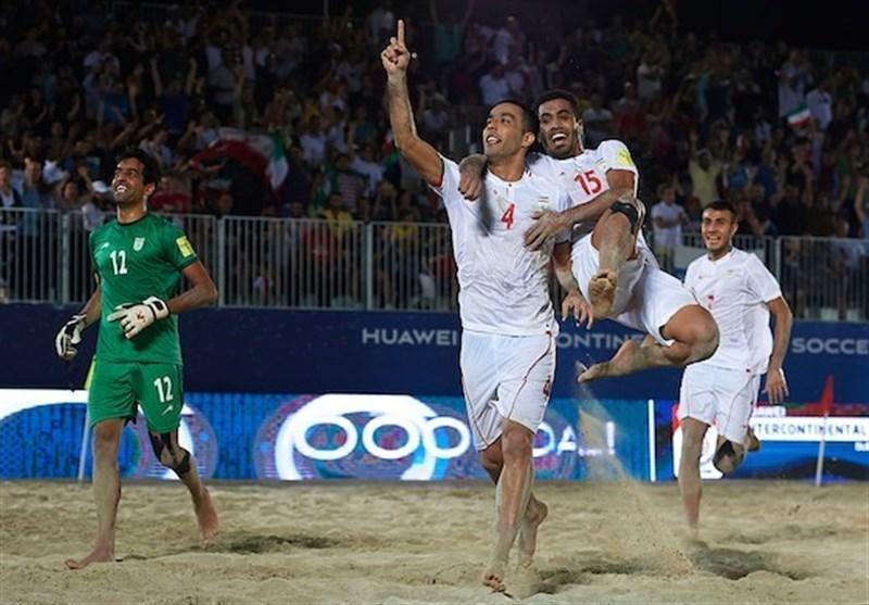 جام بین قاره ای فوتبال ساحلی، قهرمانی تیم ملی ایران با پیروزی برابر روسیه