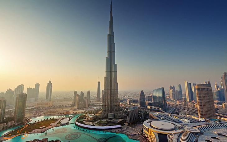 معرفی خیابان های معروف دبی